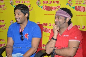 Photos of Julayi Team at Radio Mirchi 98.3 FM