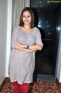 Jwala Gutta's Press Meet before leaving for London Olympics