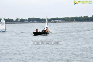 Rahul Dravid participates 4th Monsoon Regatta Sailing Championship