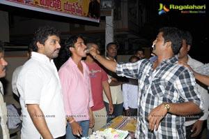Vijayawada Fans celebrates Nara Rohith 2012 Birthday