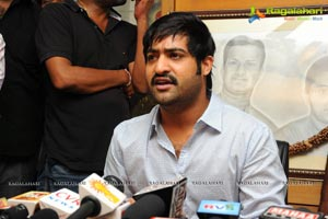 ntr press meet about nani teri