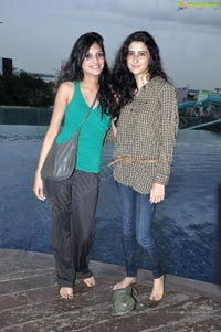 The Park Hyderabad Pool Party Photos