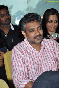 Eega Director Rajamouli at Hyderabad Radio Mirchi 98.3 FM