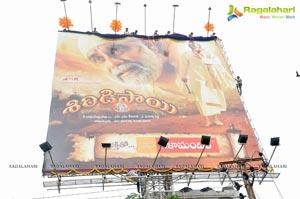 Nagarjuna's Shirdi Sai Hoarding Launch