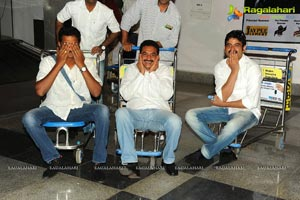 Star Cricket T20 Team at Vizag Airport