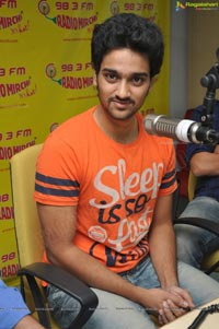 Sumanth Ashwin and Dil Raju at Radio Mirchi