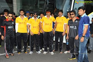 Tollywood Stars Association July 2012 Cricket Match Vizag Photos