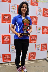 Top Ramen Felicitates Saina Nehwal Photos