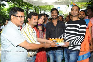 Varun Sandesh Hari Priya Film Muhurat Photos