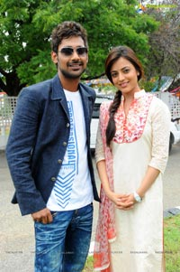 Varun Sandesh Nisha Agarwal's Untitled Film Muhurat Photos