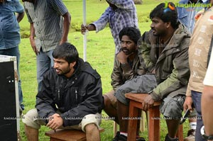 Andala Rakshasi Working Stills