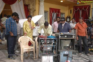 Lakshmi Manchu UKUP on the sets
