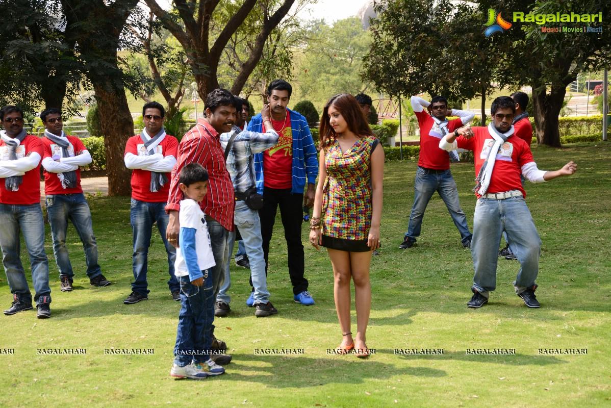 Eduruleni Alexander Movie Stills Cast Taraka Ratna Komal Jha