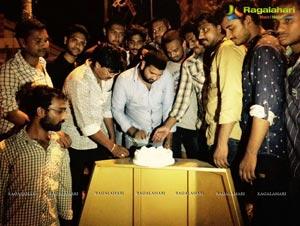 Fans Celebrates Nara Rohit Birthday