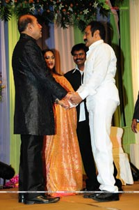 Sridevi-Rahul Wedding Reception