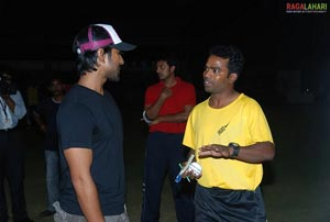 Tollywood Stars Practice Cricket