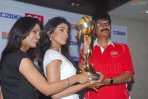 Celebrity Cricket League Trophy Launch