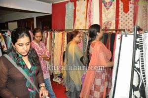 Saloni Launches Desire Exhibition at Taj Krishna