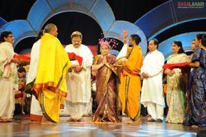 SP Balasubrahmanyam Conferred with Bala Gandharvam