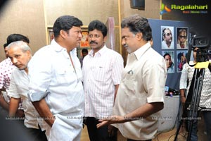 Rajendra Prasad's Cinemakeldam Randi Press Meet