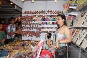 Actress Faith lauches D'sire Exhibition n Sale, Hyderabad
