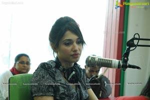 Tamanna at Radio Mirchi 98.3 FM