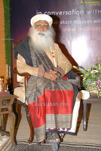 Isha Foundation Sadhguru conversation with Jayaprakash Narayan