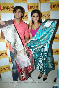 Qasam Se Qasam Se Promotions at Darpan Furnishings, Hyderabad