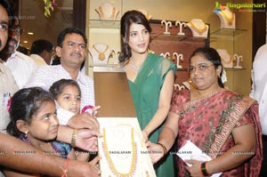 Shruti Haasan Launches Malabar Gold & Diamonds at Dilsukhnagar, Hyderabad