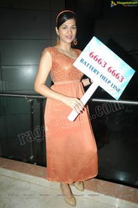 Shraddha Das at SK Traders Hyderabad Press Meet