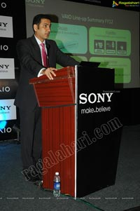 Sony Vaio E14a Launch in Hyderabad, India