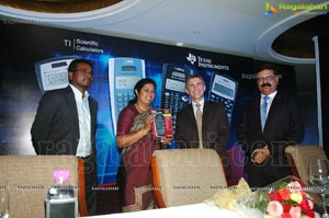 Purandeswari at Texas Instruments Press Conference, Taj Krishna
