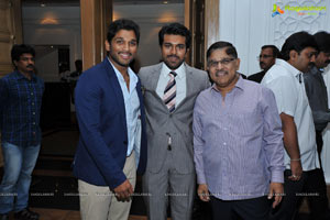 Allu Family Party for Ram Charan and Upasana