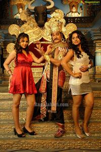 Rajendra Prasad, Master Barath as Yama & Chitragupta