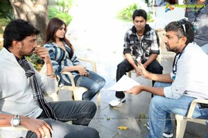 Rajamouli Eega Working Stills