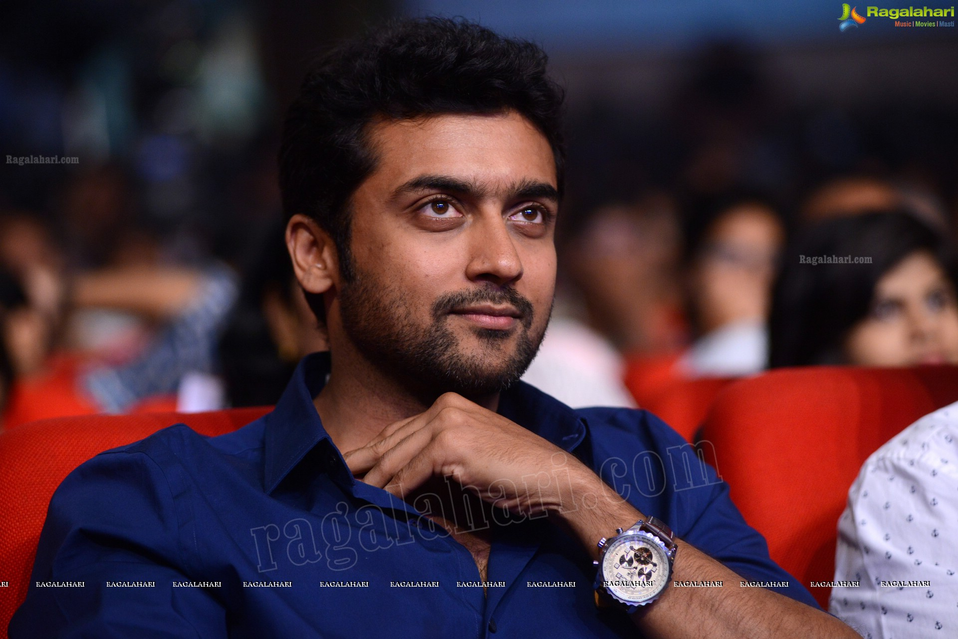 Hero Surya Family donated for HudHud relief fund
