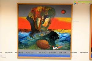 Anjolie Ela Menon Art Exhibition