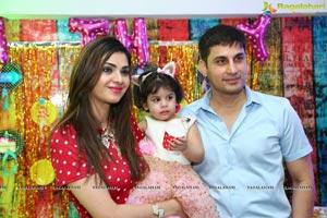 Sanayah Khan 2nd Birthday