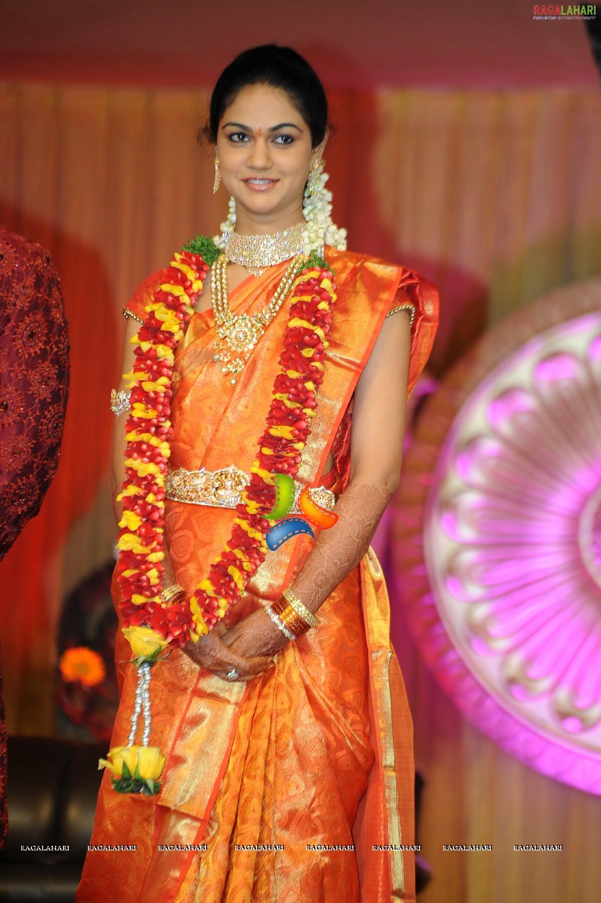 allu arjunsneha reddy wedding reception photos