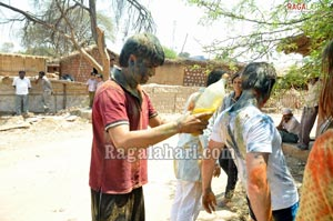 Hyderabad Holi Celebrations 2011
