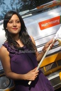 Ritu Barmecha Flags off Matrimony Express