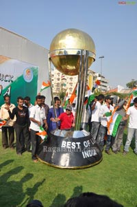 World Cup Car Designed By Sudhakar