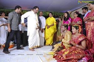 Ahuti Prasad Son Bharani - Pooja Wedding