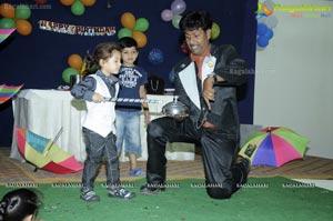 Ayaan Anand 4th Birthday