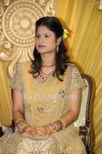 Praghyan Ojha-Karabhi Kailash Wedding Reception at Taj Krishna