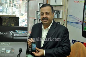 Aircel Launches Iphone 4 at Technovision