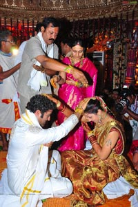 NTR-Lakshmi Pranathi Wedding Photos