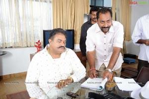 Brahmigadi Katha Working Stills
