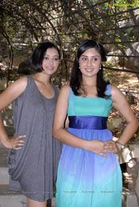 Bhanu Sri Mehra-Kamna Jetmalani-Nikitha-Swetha Basu Prasad Film Muhurat