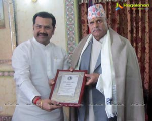Chinni Krishna Gets Indo Nepal Unity Award